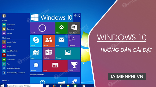 cach cai windows 10 bang file iso