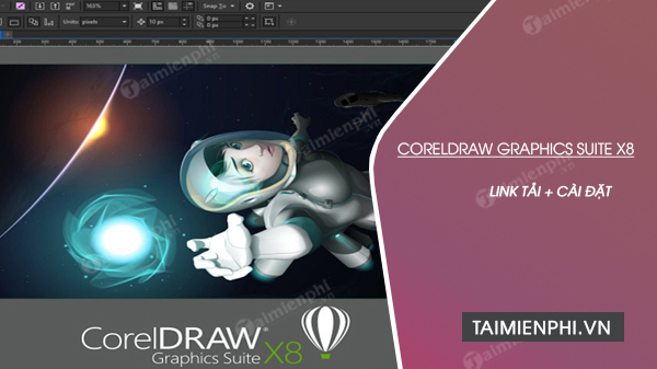 link tai CorelDRAW Graphics Suite X8