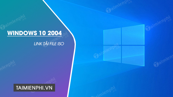 link file iso windows 10 2004