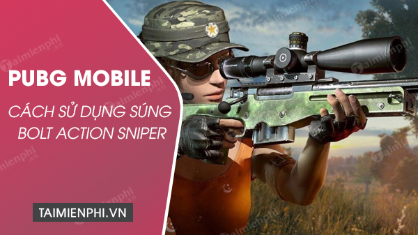 How to use bolt action bolt action in pubg mobile