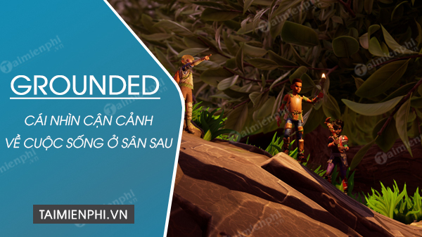 cai nhin can canh ve cuoc song o san sau trong game grounded
