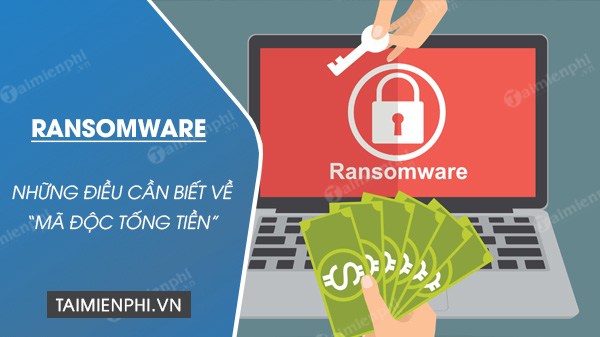 Dinh nghia nhanh ve Ransomware - Ma doc tong tien