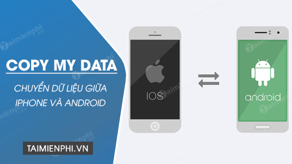 cach chuyen du lieu giua iphone va android bang copy my data