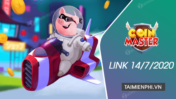 link free spin coin master free ngay 14 7 2020