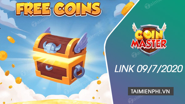 link free spin coin master free ngay 9 7 2020