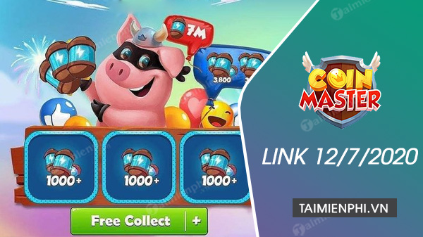 link spin coin master ngay 12 7 2020