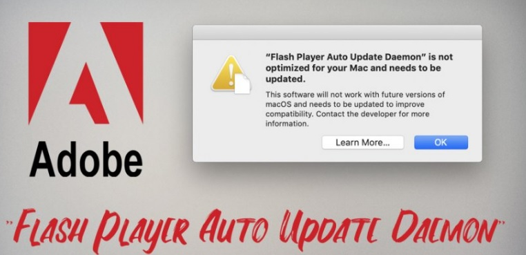 sua loi flash player auto update daemon tren mac