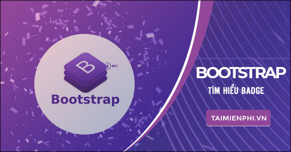 badge trong bootstrap hoc bootstrap