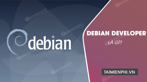 debian developer la gi?