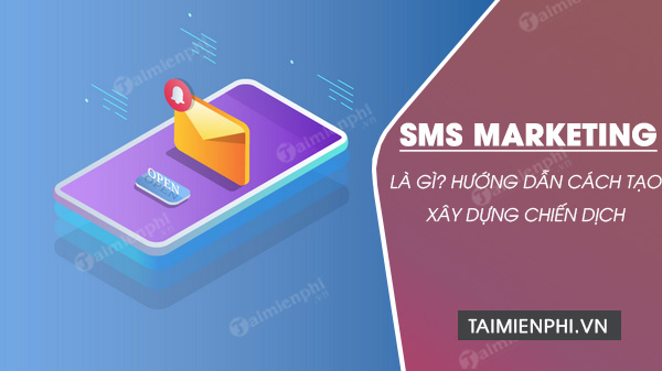 cach lam sms marketing