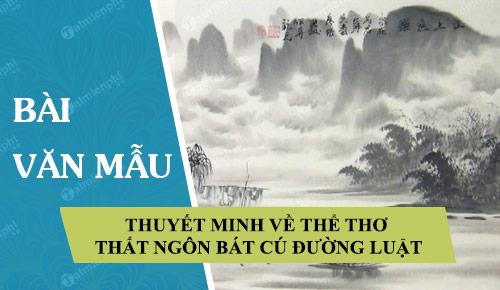 thuyet minh ve the tho that ngon bat cu duong luat