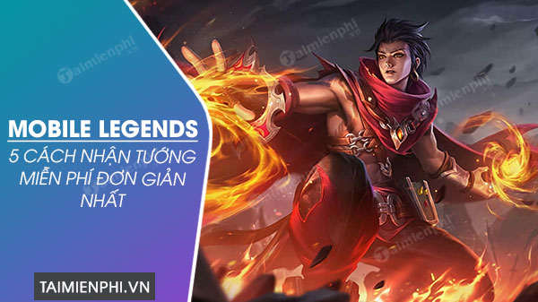 cach nhan tuong mobile legends mien phi