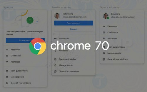 chrome 70 danh cho mac windows linux