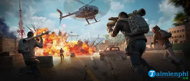 nhung vi tri xuat hien truc thang trong che do payload pubg mobile