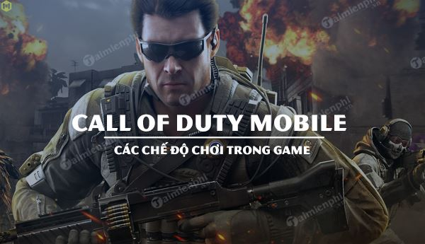 cac che do choi trong call of duty mobile
