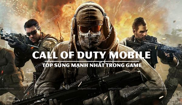 top 5 sung call of duty mobile manh nhat