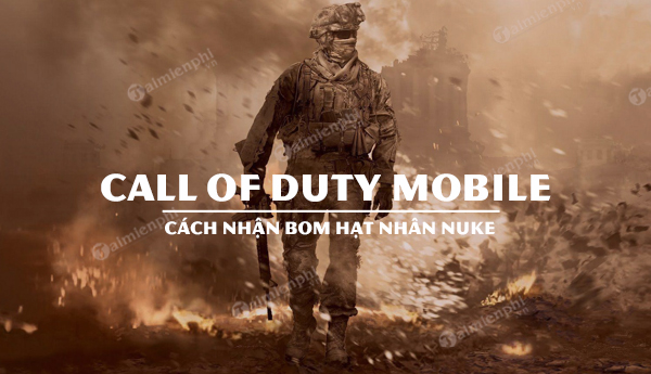 cach nhan nuke call of duty mobile