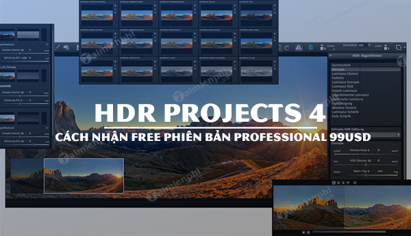 nhan mien phi hdr projects 4 professional tri gia 99usd