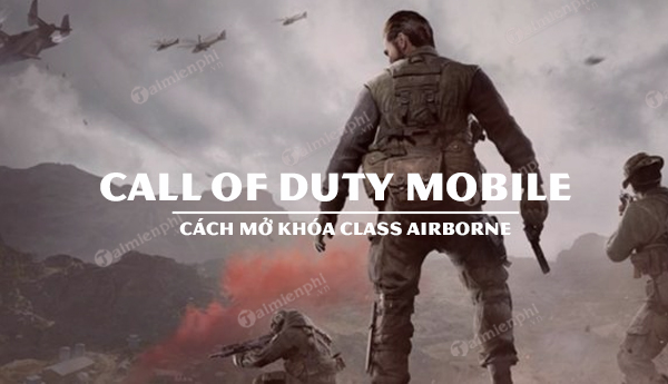 cach nhan class lop nhan vat airborne call of duty mobile