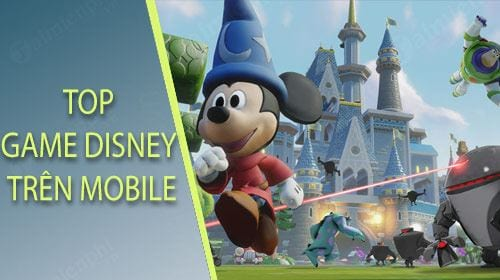 top game disney tren android nhieu nguoi choi