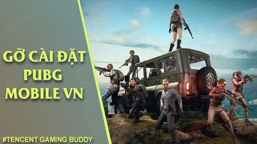 cach go cai dat pubg mobile vng tren tencent gaming buddy