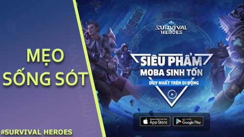 meo song sot trong survival heroes viet nam