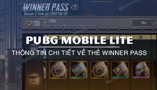 pubg mobile lite winner pass la gi su dung nhu the nao
