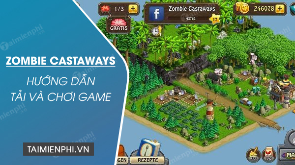 how to play zombie castaways game