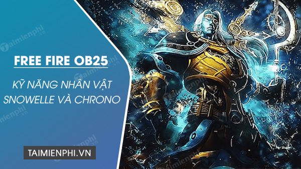 free fire ob25 calendar and new year snowelle and chrono
