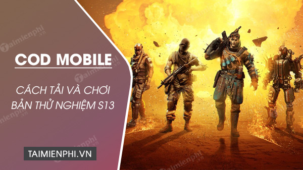 How to install and install the test server code mobile season 13