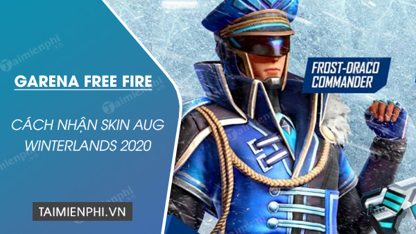 how to get skin aug winterlands 2020 in free fire