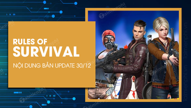 ban update rules of survival 30 12 2020 co gi moi