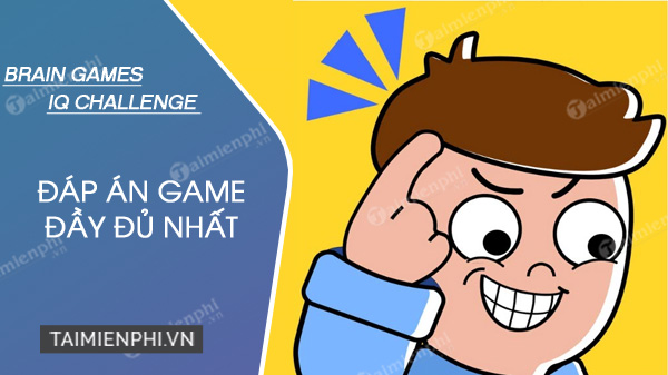 dap an brain games iq challenge