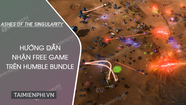 humble bundle tang mien free game ashes of the singularity
