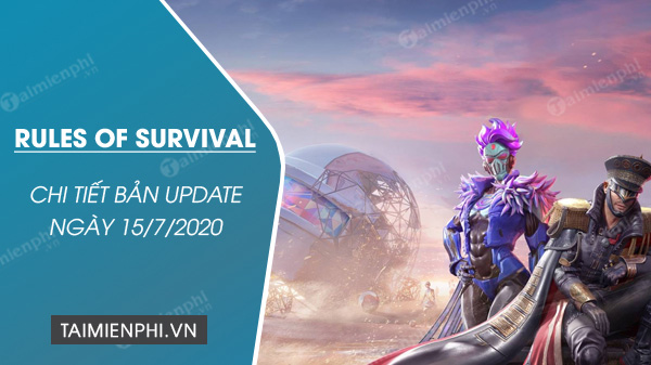ban update rules of survival 15 7 co gi moi