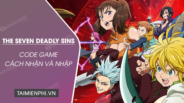 code the seven deadly sins