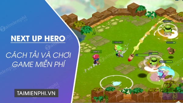 play and play next up hero game