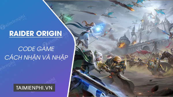 code game raider origin
