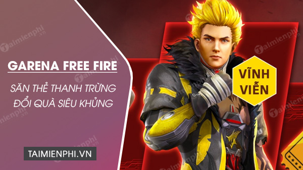 cach san the thanh trung garena free fire