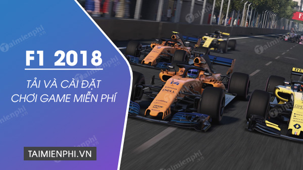 game and free game f1 2018