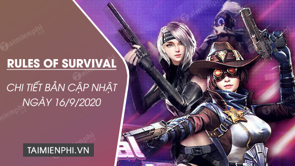 chi tiet cap nhat rules of survival 16 9