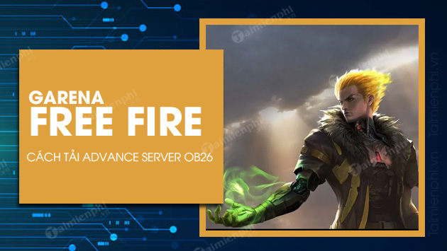 how to install and install advance server free fire ob26 may chu thu