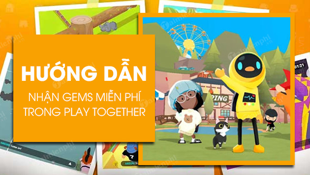 cach nhan gems trong play together mien phi