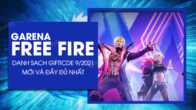 redeem code free fire thang 9 2021