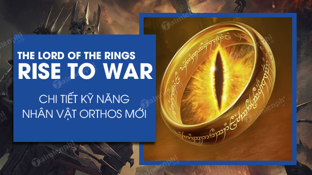 cach tai va choi the lord of the rings war tren android ios