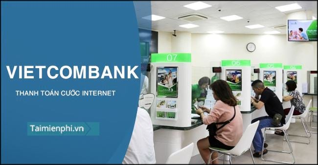 cach thanh toan cuoc internet bang vietcombank
