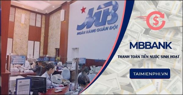 thanh toan tien nuoc sinh hoat tu mbbank