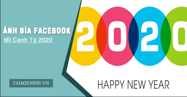 anh bia facebook tet canh ty 2020 dep