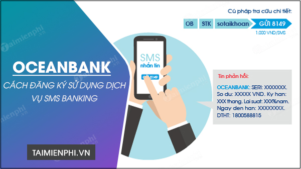 cach dang ky sms banking oceanbank