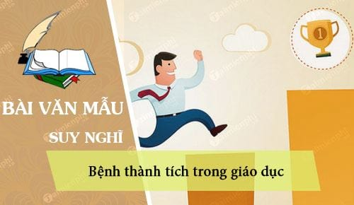 suy nghi ve benh thanh tich trong giao duc